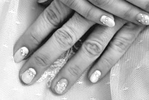 Ongle décoratif pour mariage